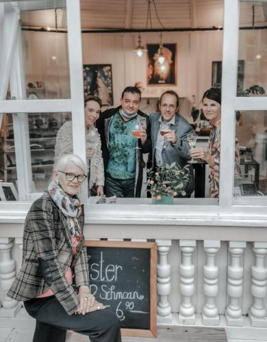 Lesung im Rahmen des »Kultur-Sommers« der Gemeinde Bad Ischl im Cafe »Sissikus« auf der Esplanade